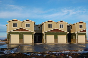 Beautiful new townhomes in Sunrise Village, Sidney, MT